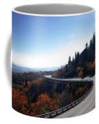 Winding Curve At Blue Ridge Parkway Coffee Mug