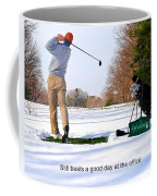 Winter Golf Coffee Mug