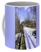 Winter On Macomb Orchard Trail Coffee Mug