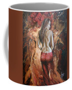 Woman's Portrait Coffee Mug