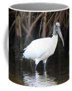 Wood Stork In The Swamp Coffee Mug