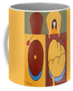2 Worlds Coffee Mug by Patrick J Murphy