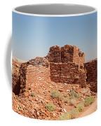 Wupatki Pueblo In Wupatki National Monument Coffee Mug