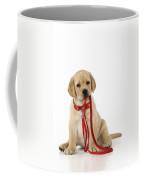 Yellow Labrador Puppy Coffee Mug