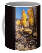 Yellowstone Institute In Lamar Valley In Yellowstone National Park Coffee Mug