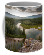 Yukon Canada Taiga Wilderness And Mcquesten River Coffee Mug