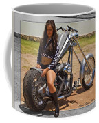 Models And Motorcycles Coffee Mug