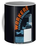 New Deal Wpa Poster Coffee Mug