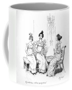 Scene From Pride And Prejudice By Jane Austen Coffee Mug