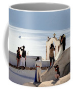 The Shoot On Santorini In Greece Coffee Mug