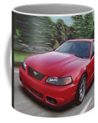 2001 Ford Mustang Cobra Coffee Mug