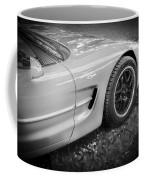 2002 Chevrolet Corvette Z06 Bw Coffee Mug