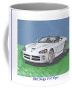 2005 Dodge V-10 Viper Coffee Mug