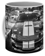 2007 Ford Mustang Shelby Gt500 Painted Bw  Coffee Mug