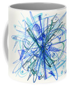 2010 Abstract Drawing 21 Coffee Mug