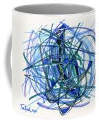 2010 Abstract Drawing 22 Coffee Mug