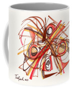 2010 Abstract Drawing 23 Coffee Mug