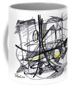 2010 Abstract Drawing 27 Coffee Mug