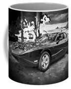 2010 Plymouth Superbird Bw Coffee Mug