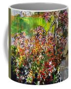 2012 119 Daisies Butterfly Garden United States Botanic Garden Washington Dc Coffee Mug