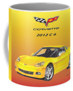 2012 C 6 Corvette Coffee Mug