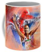 2012 Heptathlon Olympics Gold Medal Jessica Ennis  Coffee Mug