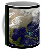 2013 Blizzard In Northeast Nasa Coffee Mug