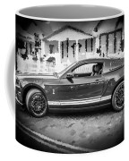 2013 Ford Mustang Shelby Gt 500 Bw Coffee Mug
