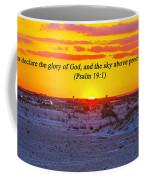 2014 03 12 02 A Psalm 19 1 Coffee Mug