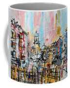 2014 23 City Street With Church At Sunset Srpsko Sarajevo Coffee Mug