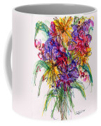 2014 Abstract Drawing #14 Coffee Mug