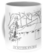Ice Fly-fishing With Doug Coffee Mug