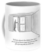 The Passive-agressive Door-holding Game: Coffee Mug