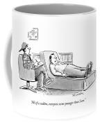 All Of A Sudden Coffee Mug