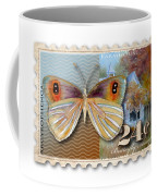 24 Cent Butterfly Stamp Coffee Mug