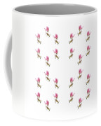 24 Dancing Pink Magnolias Square Coffee Mug