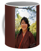 Japanese Women Coffee Mug