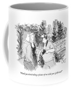 Would You Mind Taking A Picture Coffee Mug