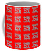 25 Affirmations Of Love In Red Coffee Mug
