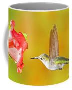 Ruby Throated Hummingbird Coffee Mug