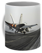 An Fa-18c Hornet Launches Coffee Mug