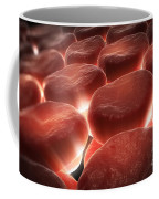 Red Blood Cells Coffee Mug