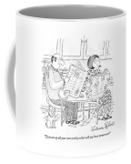 If You Use Up All Your Worry Today Coffee Mug