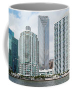 Skyscrapers At The Waterfront Coffee Mug