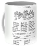 Declaration Of Independence Coffee Mug by Granger