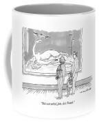 She's Not Naked Coffee Mug