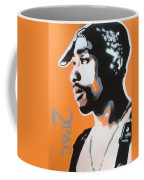2pac In Orange Coffee Mug