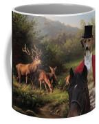 Azawakh Art Canvas Print Coffee Mug
