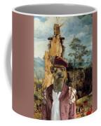 Border Terrier Art Canvas Print  Coffee Mug