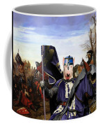 Bull Terrier Art Canvas Print Coffee Mug